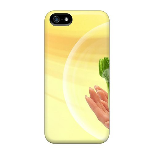 Tpu Purecase Shockproof Scratcheproof Go Green Hard Case Cover For Iphone 5/5s