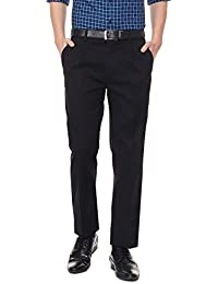 Allen Solly Men's Straight Fit Formal Trousers