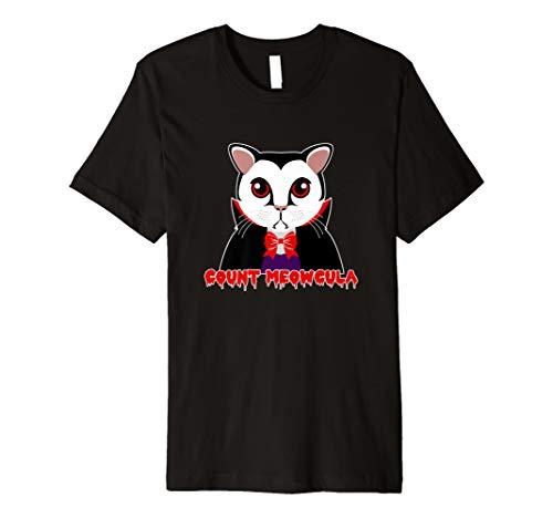 Vampire meowcula Cat Funny Halloween-Kostüm -