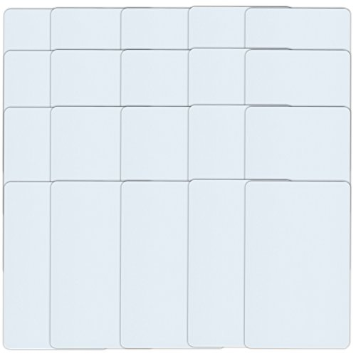 20 NFC Karten NTAG215 | 504 Byte | Scheckkarte, weiss