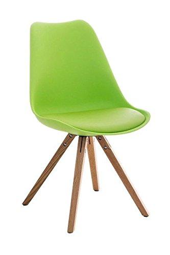 Esszimmerstuhl, Küchenstuhl, Lehnenstuhl, Sitzgelegenheiten, Besucherstuhl, Stuhl, Wartezimmerstuhl, Wohnzimmerstuhl Materialmix natura grün #PeglegS