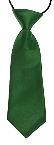 emerald-green-baby-infant-silky-satin-pre-tied-elastic-wedding-ties-uk-seller