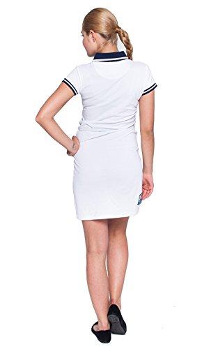 Giorgio Di Mare femme polo robe white