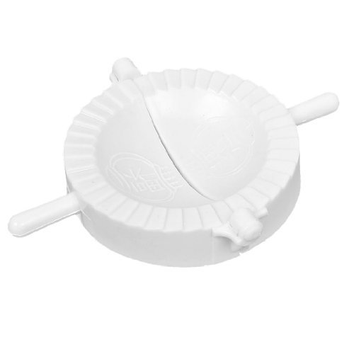 Water & Wood Chinese Meat Ravioli Dumpling Pie Pastry Mould Maker White