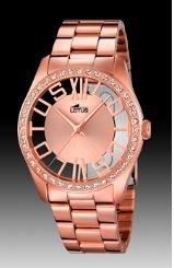 Reloj de acero rosa para mujer modelo 18128/1 de Grupo Festina Lotus
