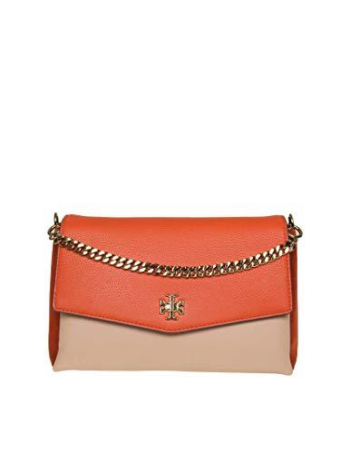 Tory Burch Damen 56444822 Orange Leder Schultertasche