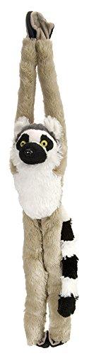 (Wild Republic 15261 - Hanging Monkey Katta Lemur Plüsch-Affe, 51 cm)