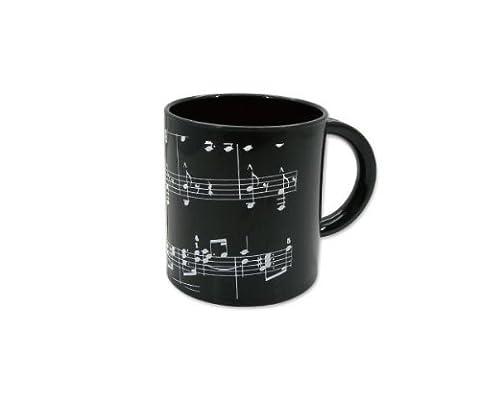 Orienté de musique Note de musique Plastique Design Tasse