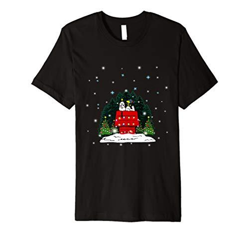 (Frohe Weihnachten Erdnüsse-Snoopy T-Shirt)