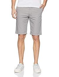 Indian Terrain Men's Slim Fit Cotton Shorts