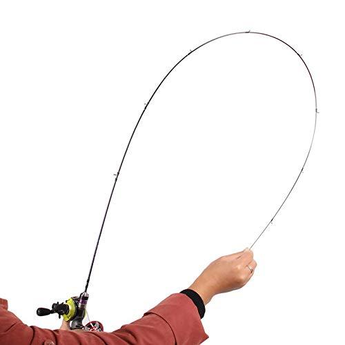 FISHYY Angelrute 1,4 mt UL Casting Angelrute Lure Gewicht 1-6g Forellenstange Super Soft UL Langsame Kraft Fischköder Rod Pole