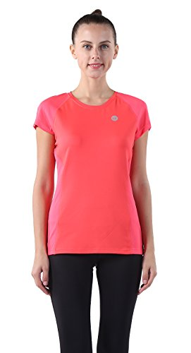 Garvirp Damen T-Shirt X-Small Gr. S, korallenrot (Red Impact Shorts Womens)