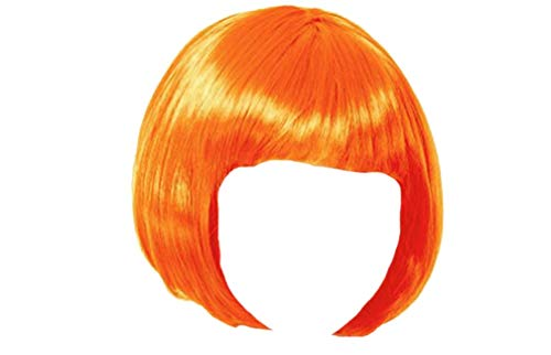 Matissa KURZES BOB-PERÜCKE FÜR Frauen-FANTASTISCHES Kleid Cosplay-PERÜCKE POP-Party-KOSTÜM (Orange)