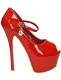 Jumex - Zapatos de vestir de charol para mujer