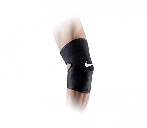 Nike Erwachsene Pro Elbow Sleeve 2.0 Ellenbogenstulpe, Black/White, L