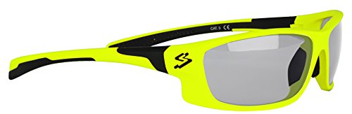 Spiuk Spicy - Gafas Unisex, Color Amarillo Mate/Negro