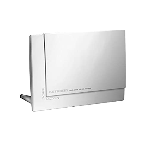 Kathrein BZD 30 aktive DVB-T/-T2 Zimmerantenne (Fernspeisung 5 V/30 mA, integrierter Verstärker, Stand-/Wandmontage)