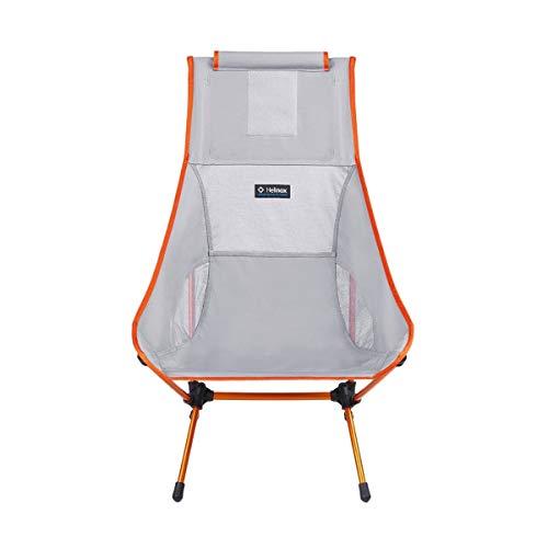 Helinox Chair Two,Campingstuhl,Faltstuhl,Aluminium,leicht,stabil,faltbar,inkl Tragetasche,Grey,one Size