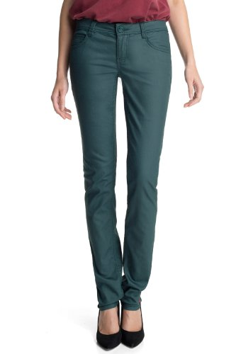 edc by ESPRIT Damen Hose Five Slim Skinny Slim Fit Normaler Bund