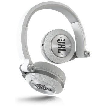 jbl e45bt casque supra auriculaires sans fil bluetooth avec commande microphone blanc. Black Bedroom Furniture Sets. Home Design Ideas