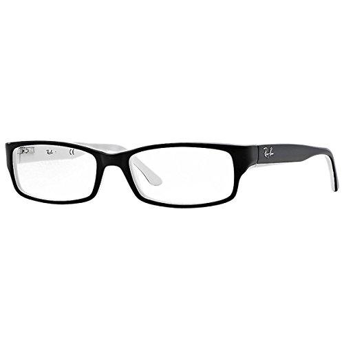RAYBAN Unisex-Erwachsene Brillengestell 5114, Schwarz, 52