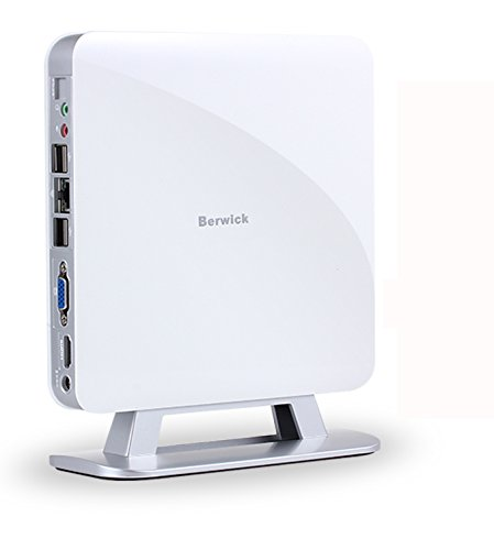 Berwick M3A Mini PC Mini Desktop Computer Ultra Compact PC Intel Core i5 802.11AC WiFi Gigabit LAN HDMI VGA 120G SSD+4G DDR3 Ubuntu16.04