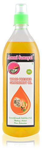 Ammi Samayal Wood Pressed Groundnut Oil, 1 L