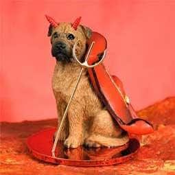 Bull Mastiff pour chien Diable Figurine
