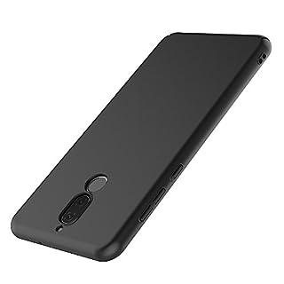 AICEK Huawei Mate 10 Lite Hülle, Blau Silikon Handyhülle für Huawei Mate 10 Lite Schutzhülle Karbon Optik Soft Case (5,9 Zoll)