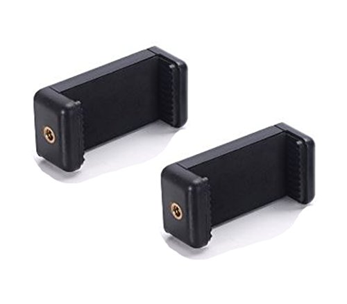 Octo Mount 2Pack Universal Smartphone Halter Set für jedes Handy. Hat Kamera Schraube (1/4-Zoll-20), Das Handy Bequem zu GoPro assessories, Stative, Connect, Polen, Hand Grip, Etc. -