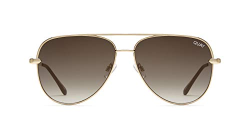 Quay Sahara Gold Smoke Taupe Sonnenbrille 9343963022162
