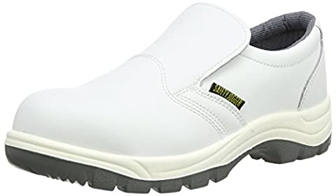 Safety Jogger X0500, Unisex - Erwachsene Arbeits & Sicherheitsschuhe S2, weiss, (wht/lgr 67), EU 39