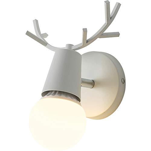 tiver Hintergrund Wand 360 Grad drehbar kleine Wandlampe Horn Geweih LED Balkon Gang Lampen D13cm X H19cm ()