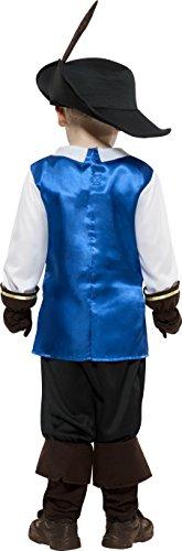 Imagen de smiffy's  disfraz de mosquetero para niño, talla s 4  6 años  22907s  alternativa