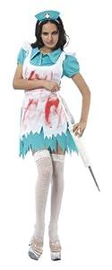 Humatt Perkins 51415 - Disfraz de enfermera zombie
