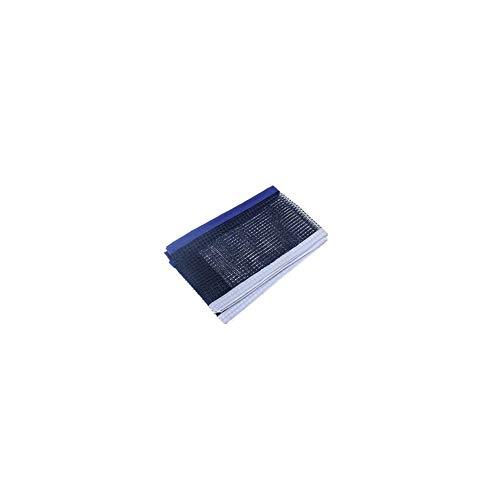 Tragbarer Tischtennisnetz Durable Ersatz Wasserdicht Ping Pong Net zusammenklappbares Tischtennis Zubehör Blau (Pong Tennis Ping Table Net)
