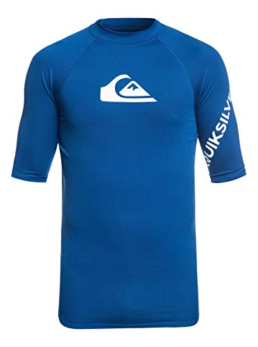 Quiksilver Herren All Time S/sl Surf Tee, Electric Royal, M