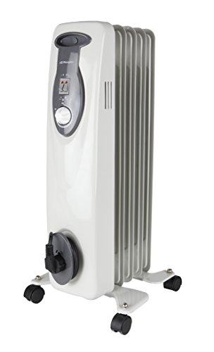 Orbegozo RA 1000 D - Radiador de aceite, 5 elementos, 1000 W