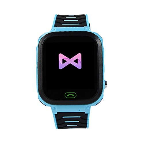 happygirr T18 Kids Smartwatch, GPS Locator, Kinder-Smart-Uhr, Smart Phone Watch, Kamera-Uhr, PAS, Wecker, Umweltmaterial, Smart Watch Phone für Schulkinder von 3-14 Jahren
