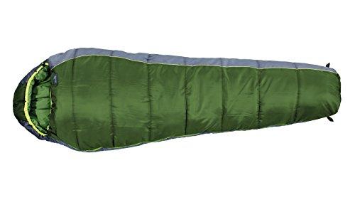 Easy Camp Mumienschlafsack Orbit 400 - Saco de Dormir Momia para Acampada, Color Verde, Talla 38