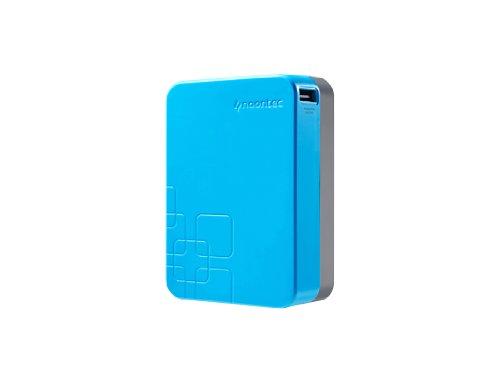 Noontec A20000L Giant Power Bank universal externer Akku-Ladegerät (20000mAh) für Smartphone/Tablet/Apple iPod/iPhone blau