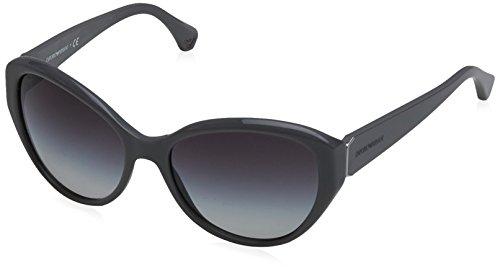 Emporio armani 0ea4037 52558g occhiali da sole, grigio (grey/grey gradient), 57 donna