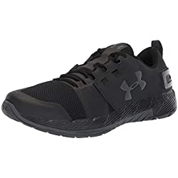 Under Armour UA Commit TR X NM, Zapatillas de Deporte para Hombre, Negro (Black/Charcoal), 44/45 EU