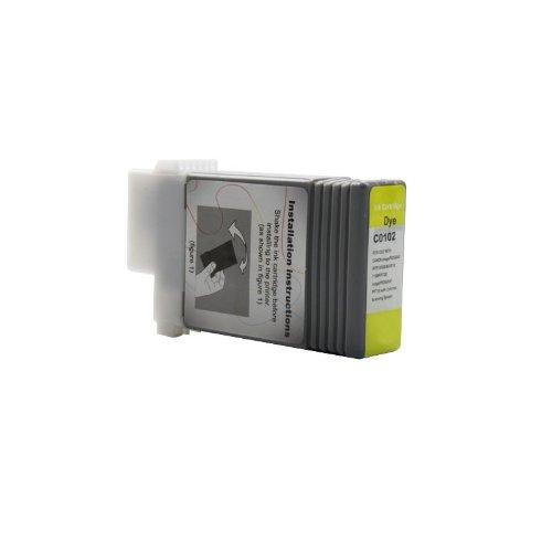 Galleria fotografica aniol-toner Canon 0898B001/PFI PFI-102Y Cartuccia di inchiostro giallo (130,00ML) per Canon Imageprograf IPF 500/510/600/605/610/650/655/700/710/720/750/750MFP/750