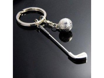 Porte-clefs De Golf (club et balle)