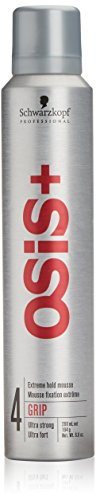 Schwarzkopf Osis+ Extreme Hold Mousse Grip 4-6.8 oz by Schwarzkopf Professional - Extreme Mousse