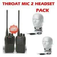 Mitex General 2 Throat Mic Pack