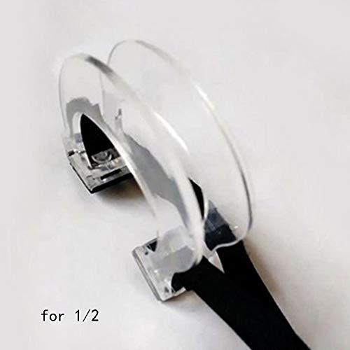 Violine Geige Bogen Glättung Kollimator Corrector Werkzeug Guide für Anfänger Praxis Training Übung für 4/4, 3/4, 1/2, 1/4, 1/8Violine 1/2 - Master Corrector