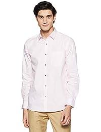 Park Avenue Men's Striped Slim Fit Formal Shirt