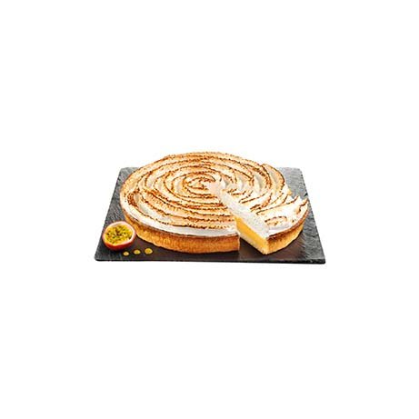 TOUPARGEL - Tarte passionnément meringuée, aux fruits de la passion - 480 g - Surgelé